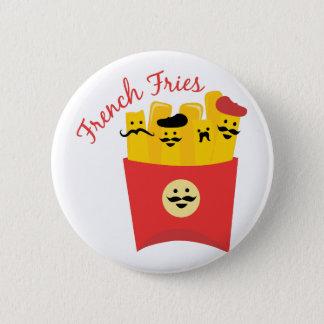 Pommes-Frites Runder Button 5,7 Cm