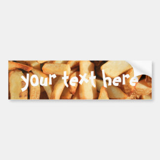Pommes-FritesAutoaufkleber Autoaufkleber