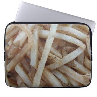 Pommes-Friteslaptop-Hülse Laptopschutzhülle