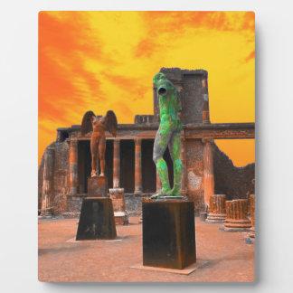 Pompeji Italien Fotoplatte
