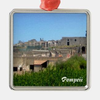 Pompeji Italien Silbernes Ornament