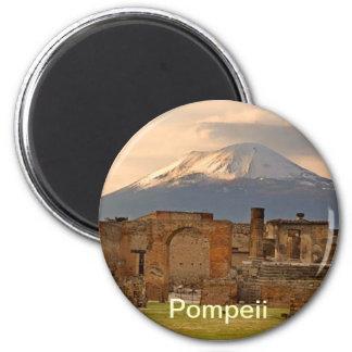 Pompeji-Magnet Runder Magnet 5,7 Cm