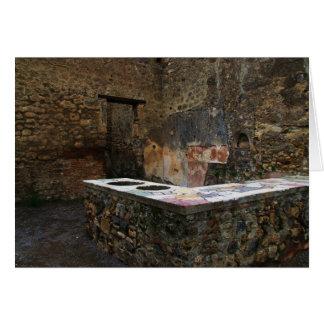 Pompeji - Restaurant Karte