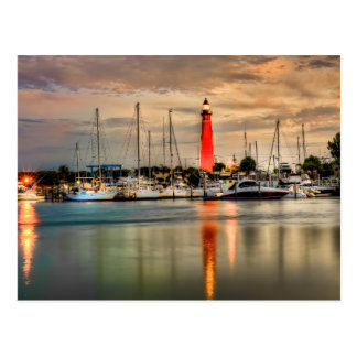 Ponce Einlass-Leuchtturm Postkarte