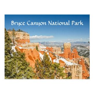 Ponderosa Punkt, Bryce Schlucht-Nationalpark Postkarte