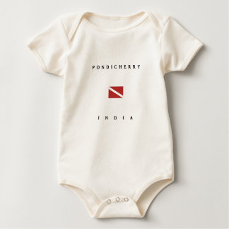 Pondicherry Indien Baby Strampler