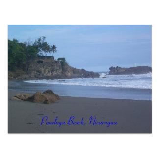 Poneloya Strand, Nicaragua Postkarte