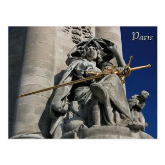 Pont Alexandre III Postkarte