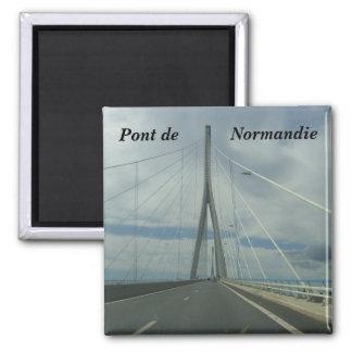 Pont de Normandie - Quadratischer Magnet