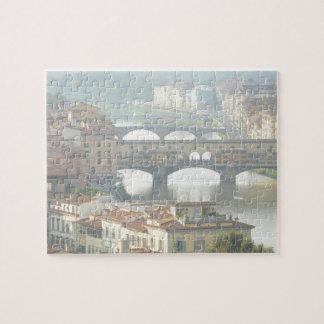 Ponte Vecchio alte Brücke Florenz Italien Puzzle