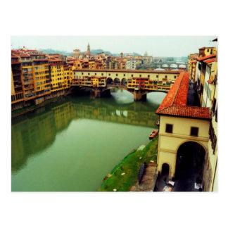 Ponte Vecchio - Florenz Postkarte