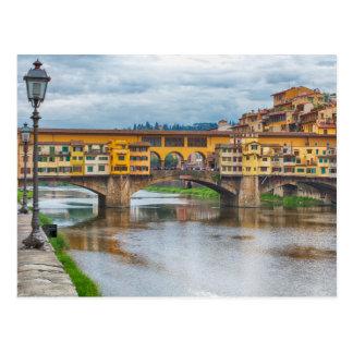 Ponte Vecchio, Postkarte Florenz, Italien