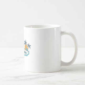 Ponte Vedra - surfender Entwurf Kaffeetasse