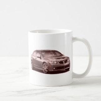 Pontiac G8 GXP geknackt Kaffeetasse