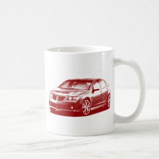 Pontiac G8 GXP gestreift Kaffeetasse