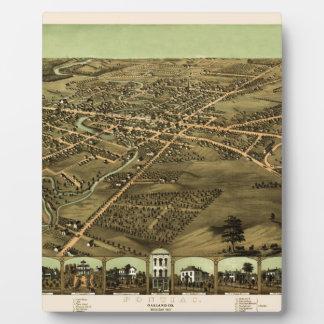Pontiac Michigan 1867 Fotoplatte