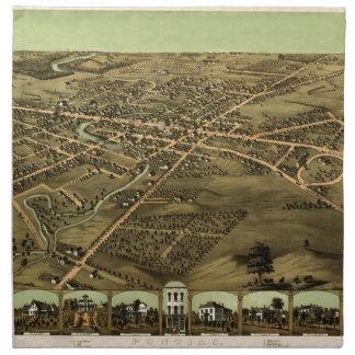Pontiac Michigan 1867 Serviette