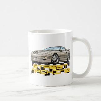 Pontiac-Transport morgens Kaffeetasse