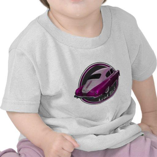 Pontiaclowrider-Führungs-Schlitten-Rosa Hemden