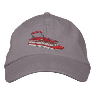 Ponton-Boot Bestickte Baseballmütze