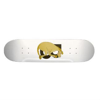 Pony-Monogramm-Buchstabe B Bedrucktes Skateboard