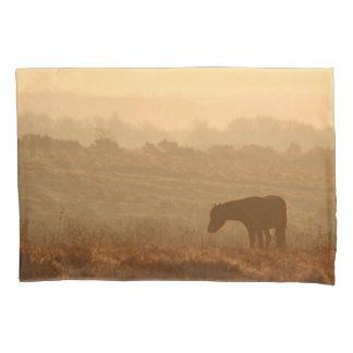 Pony und Rotwild Kissen Bezug