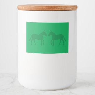 Ponys Lebensmitteletikett