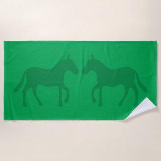 Ponys Strandtuch