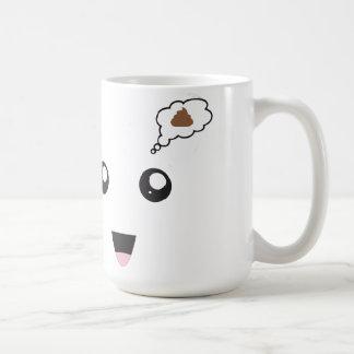 Poo Kawaii Kaffeetasse