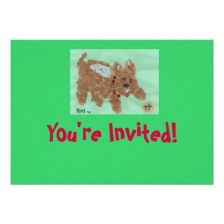 Poochie Einladung