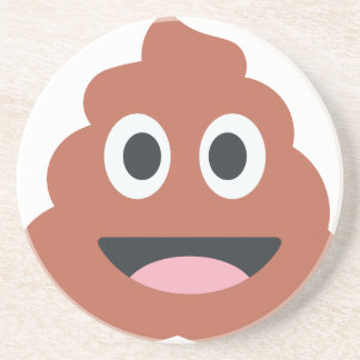 Pooh emoji getränkeuntersetzer
