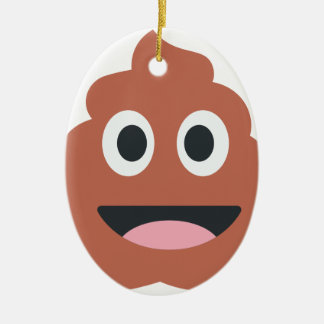 Pooh emoji keramik ornament