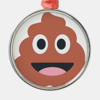 Pooh emoji silbernes ornament