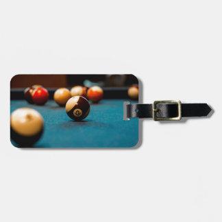Pool-Ball-Tabelle Kofferanhänger
