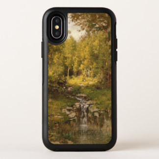 Pool im Holz OtterBox Symmetry iPhone X Hülle