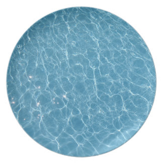 Pool-Melamin-Platte Teller