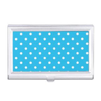 Pool-Party-blauer Visitenkarten-Behälter