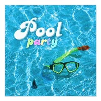 Einladung Geburtstag Poolparty | geburtstagssprüche