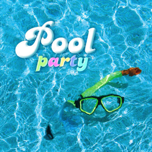 Pool Party Einladungen | Zazzle.de