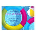 Pool-Party Einladungen