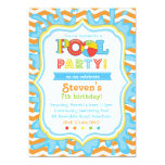 Pool-Party Einladungs-/Pool-Party laden ein Ankündigung