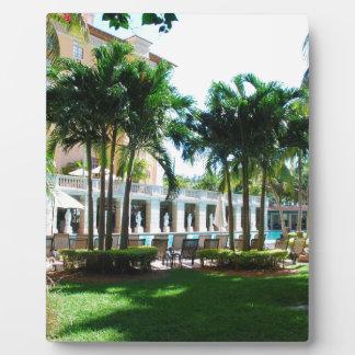 Poolbereich Miamis Biltmore Fotoplatte