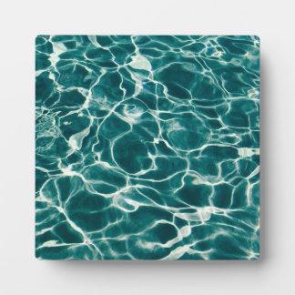 Poolwassermuster Fotoplatte