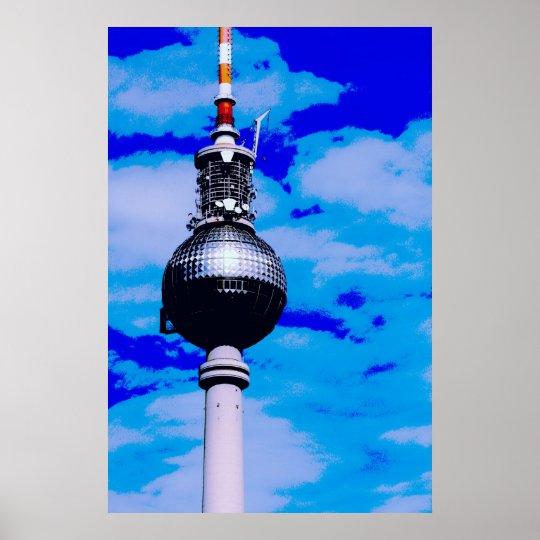 Pop Art Berlin No.3 Poster