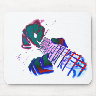 Pop Art Guitar Tapping Mousepad