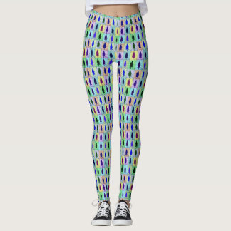 Pop-Baum-Muster Leggings