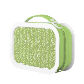 Pop-Blumen-Blättergrüner Lunchbox
