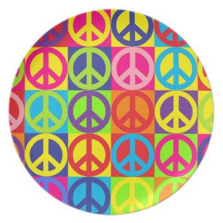 Pop-Frieden Teller