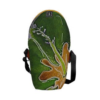 Pop-Hibiskus-Bote-Tasche Kuriertasche
