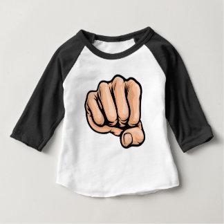 Pop-Kunst-Art-Cartoon-Faust Baby T-shirt